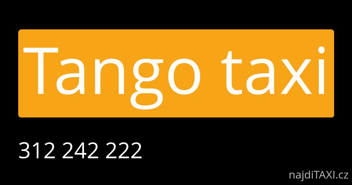tango taxi kladno